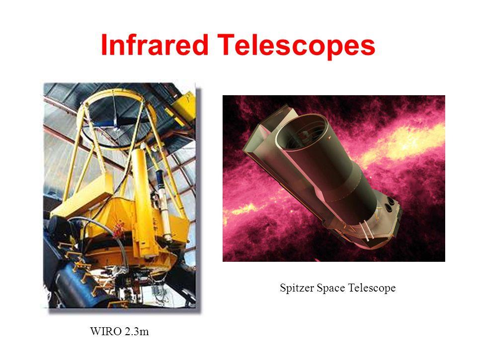 Infrared Telescopes WIRO 2.3m Spitzer Space Telescope