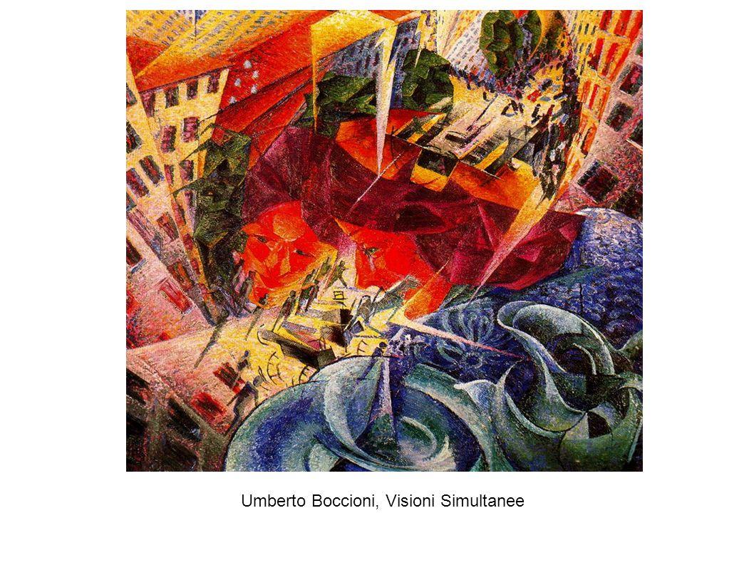 Umberto Boccioni, Visioni Simultanee