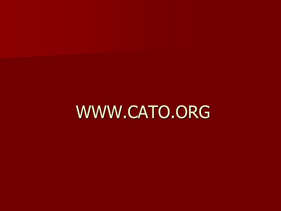 WWW.CATO.ORG