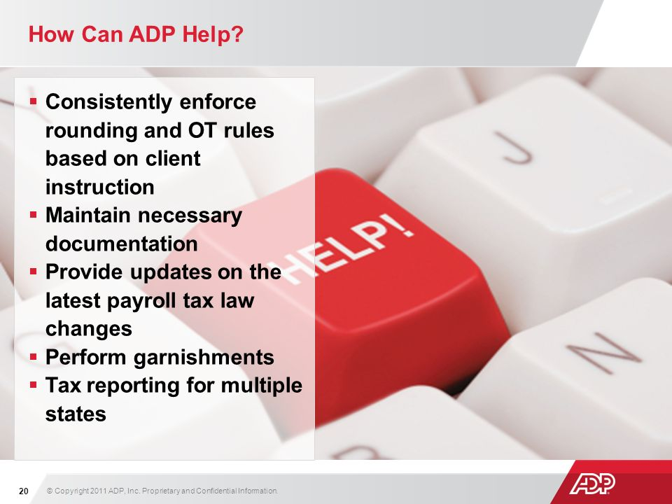How Can ADP Help.