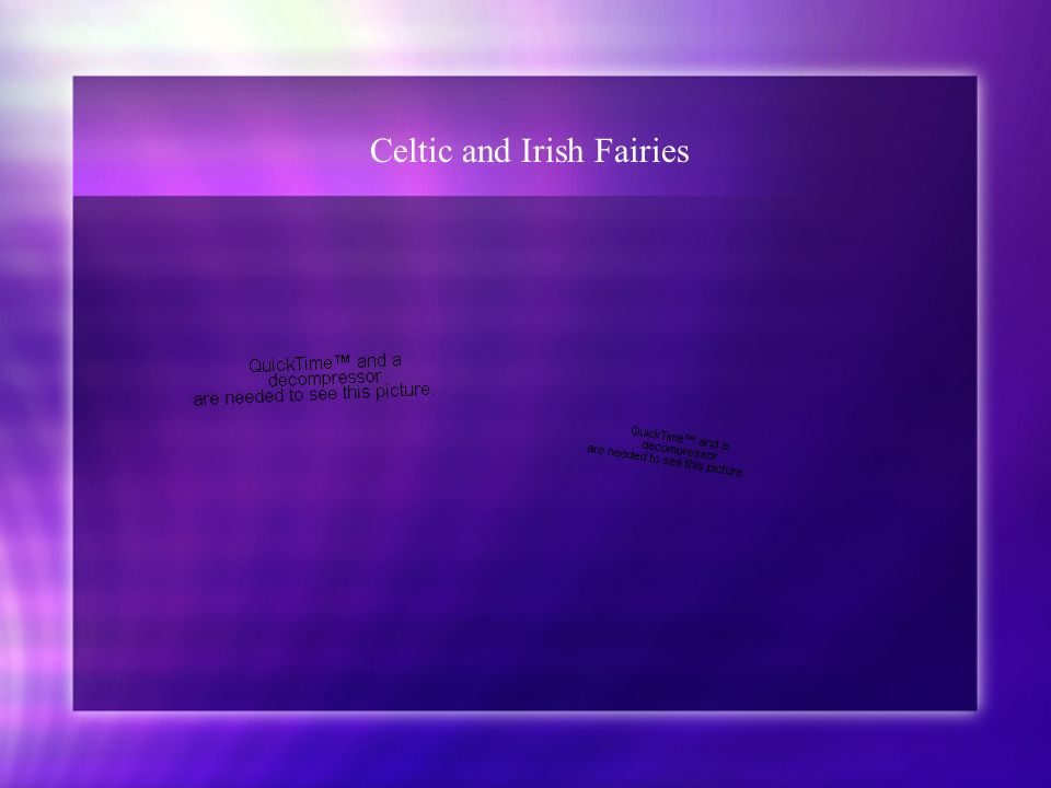 Celtic and Irish Fairies