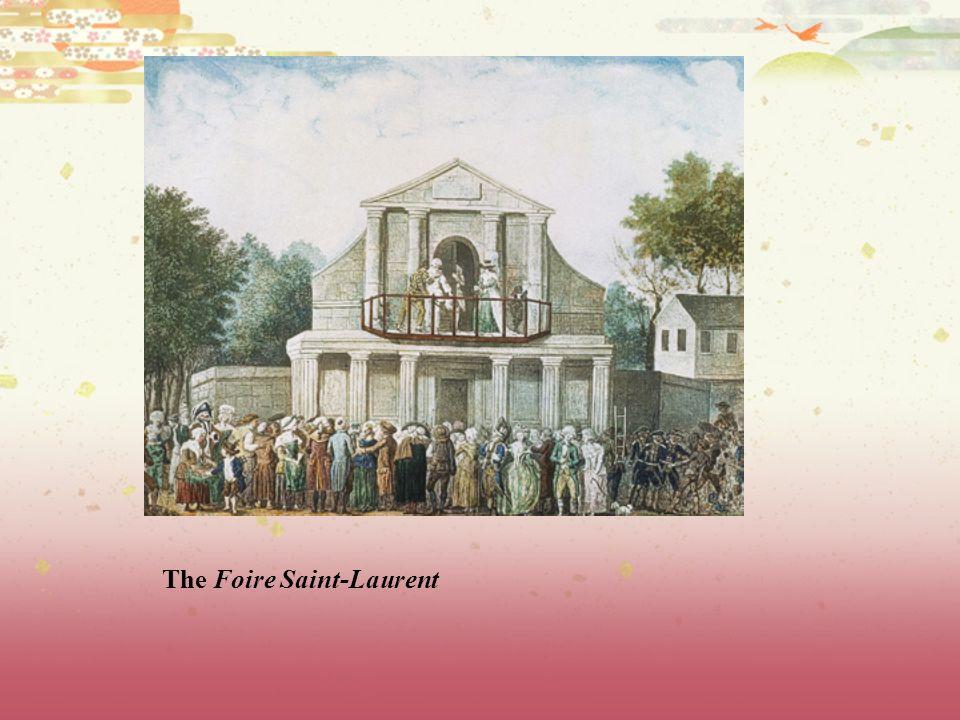 The Foire Saint-Laurent