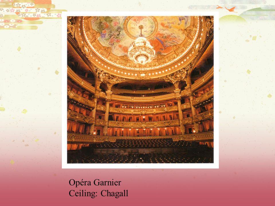 Opéra Garnier Ceiling: Chagall