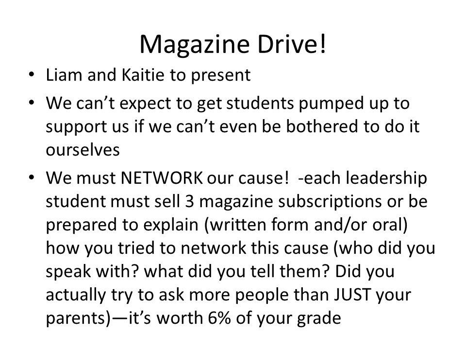 Magazine Drive.