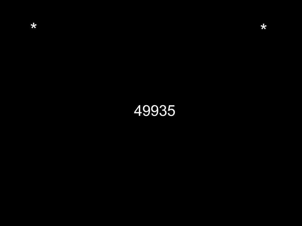* * 49935