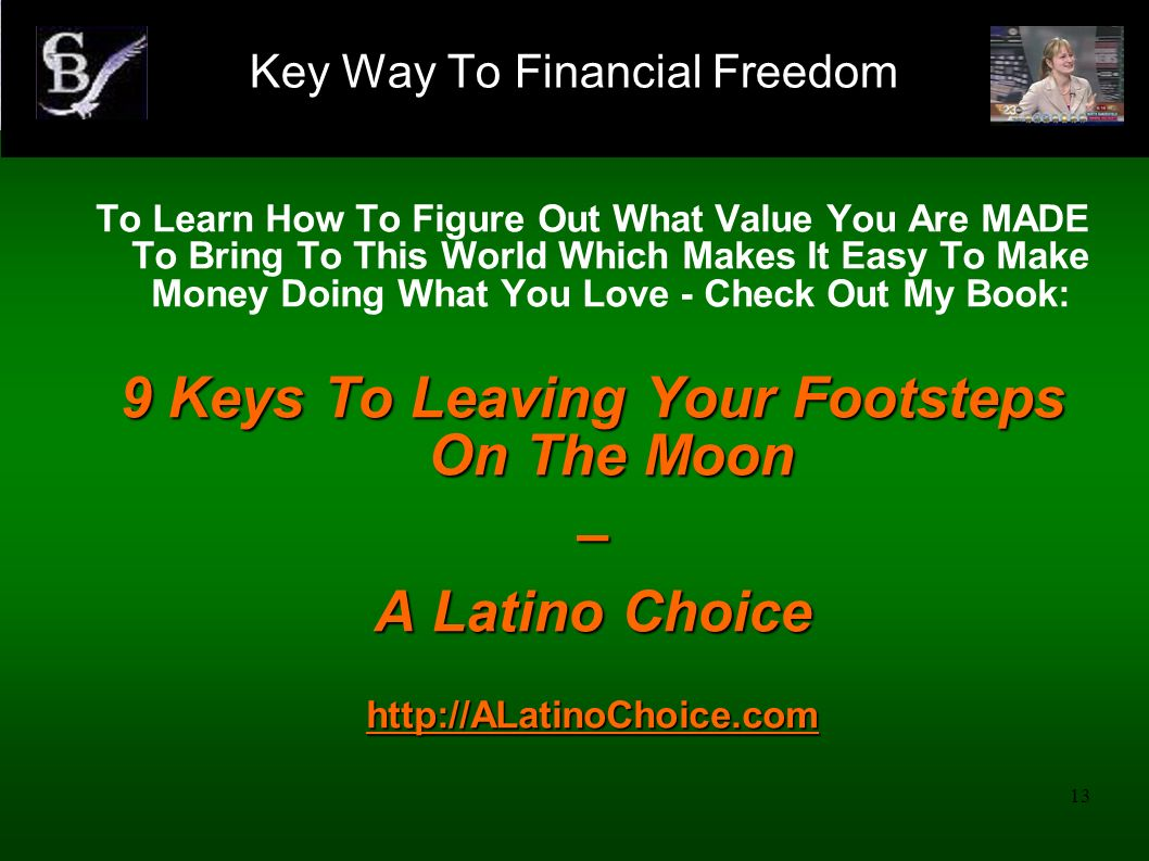14 Declaration: I Joyfully See And Feel My Own Financial Freedom Growing On A Daily Basis.