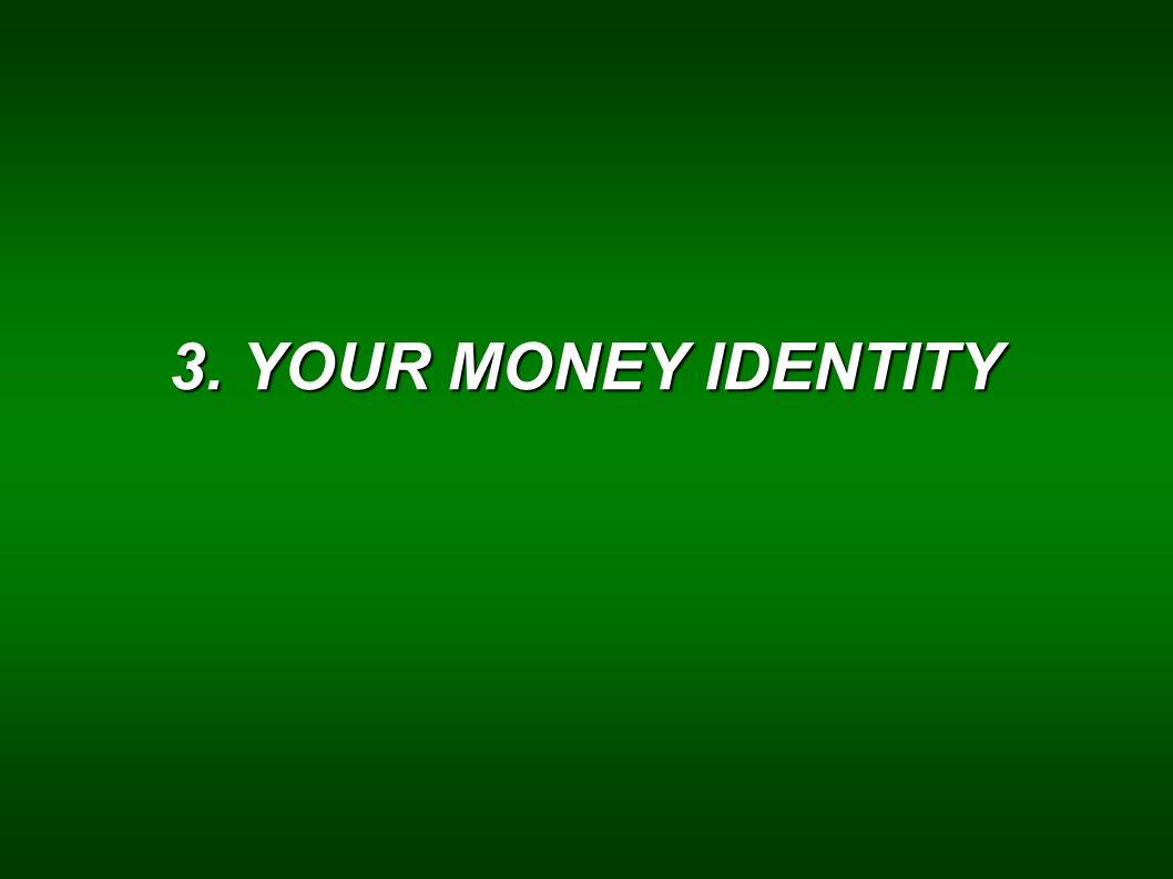 3. YOUR MONEY IDENTITY