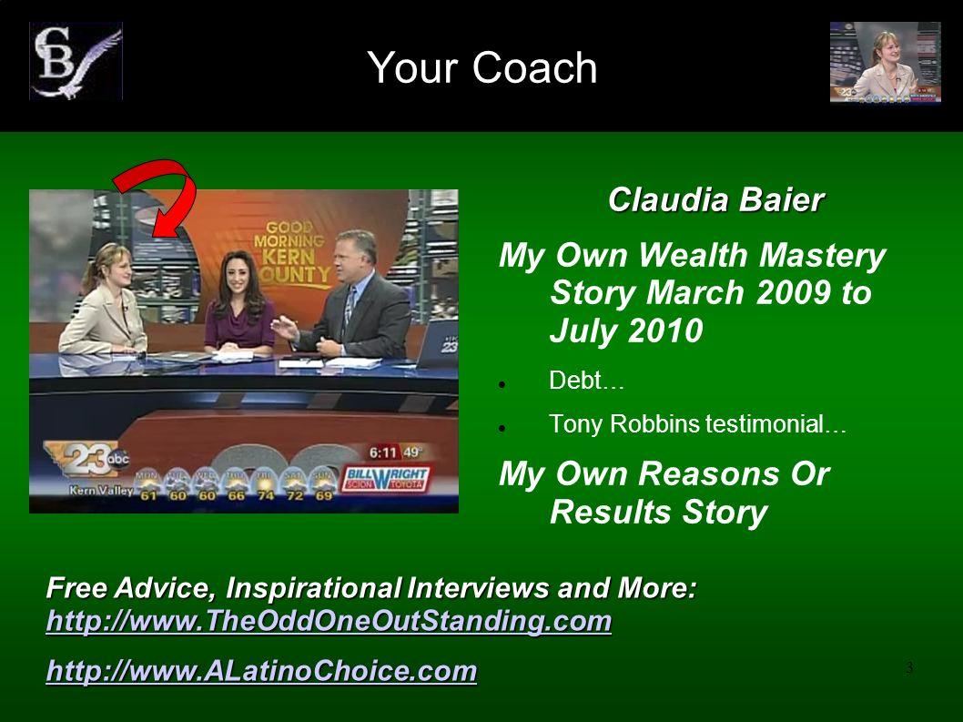 4 1.YOUR FINANCIAL FINGERPRINT 2. UNIVERSAL LAWS IMPACTING YOUR MONEY 3.