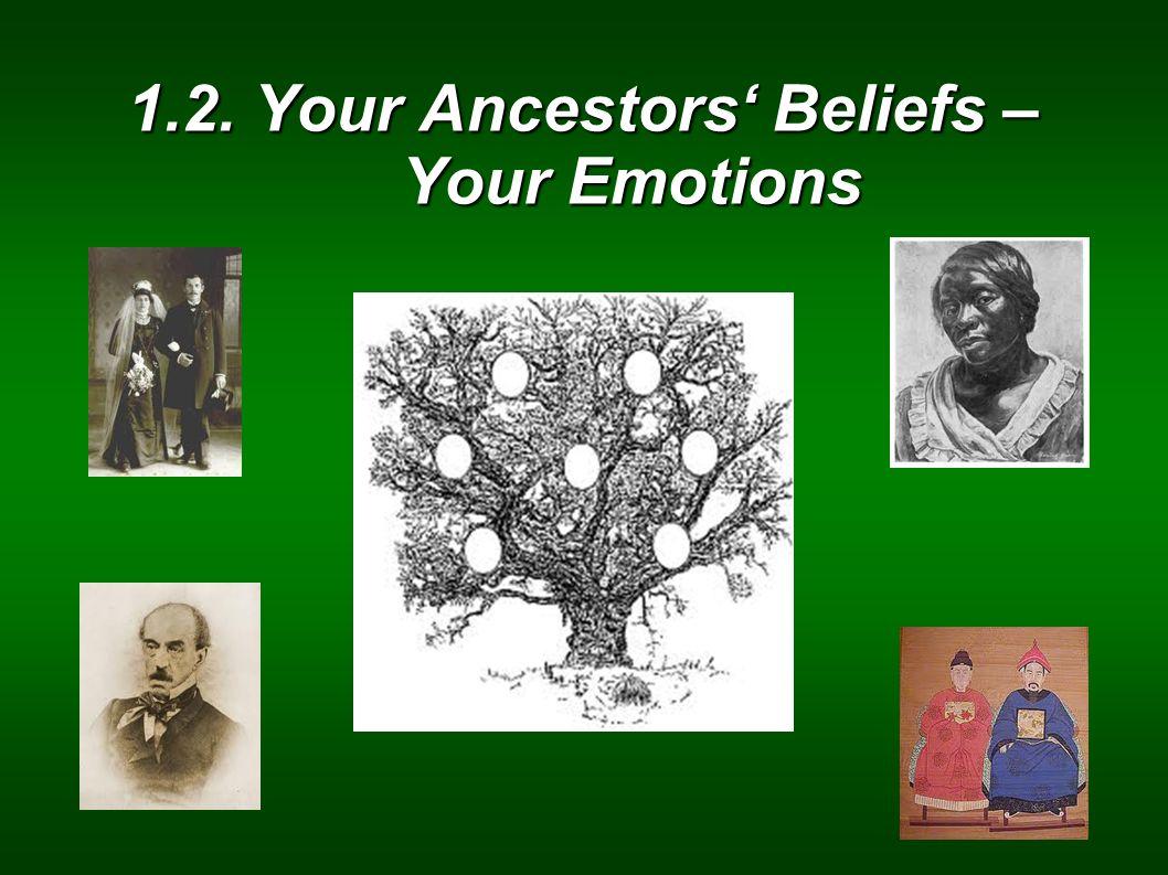 1.2. Your Ancestors Beliefs – Your Emotions