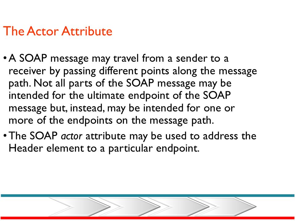 The SOAP Header Element The optional SOAP Header element contains application specific information (like authentication,) about the SOAP message. If t
