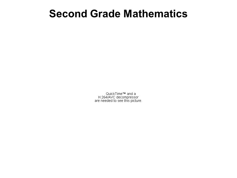 Second Grade Mathematics