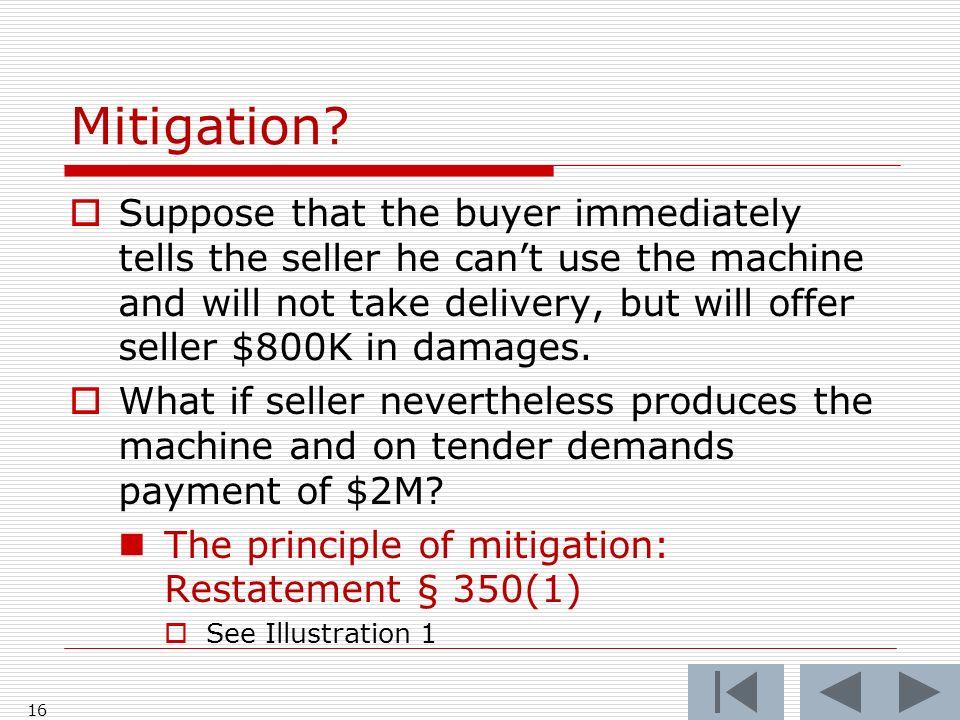 Mitigation.