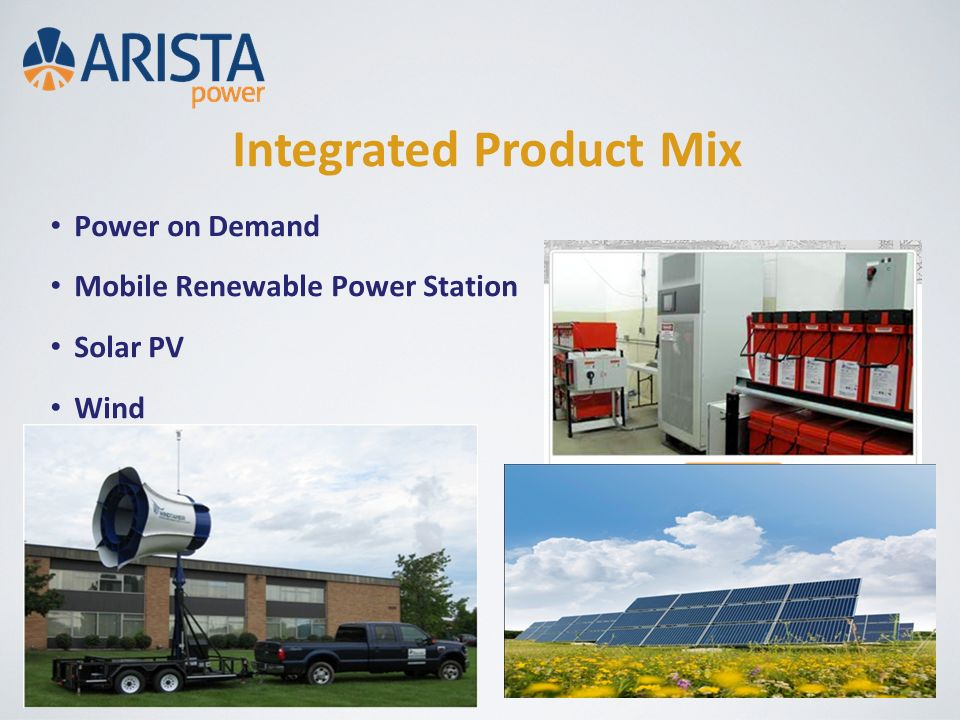 Integrated Product Mix Power on Demand Mobile Renewable Power Station Solar PV Wind
