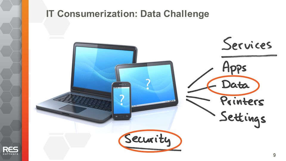 9 IT Consumerization: Data Challenge 99