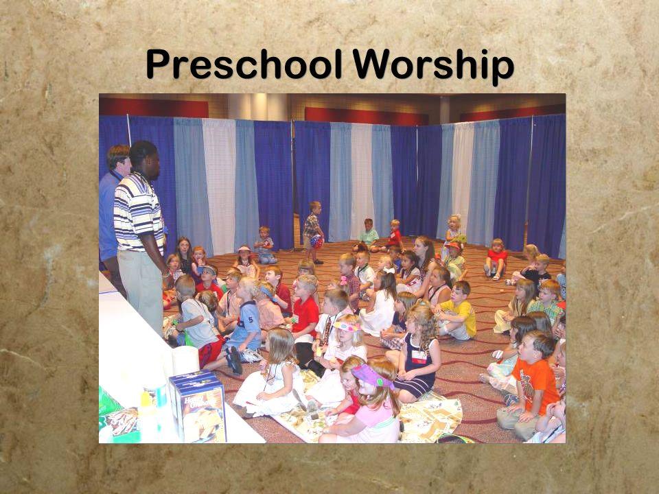 Preschool Worship