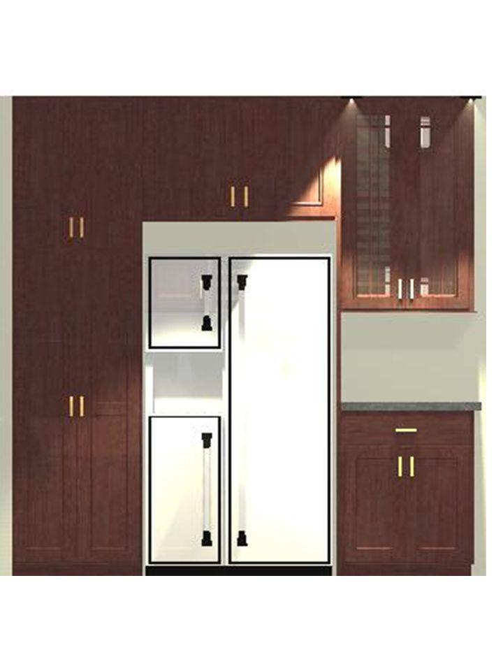 2D rendering - refrigerator