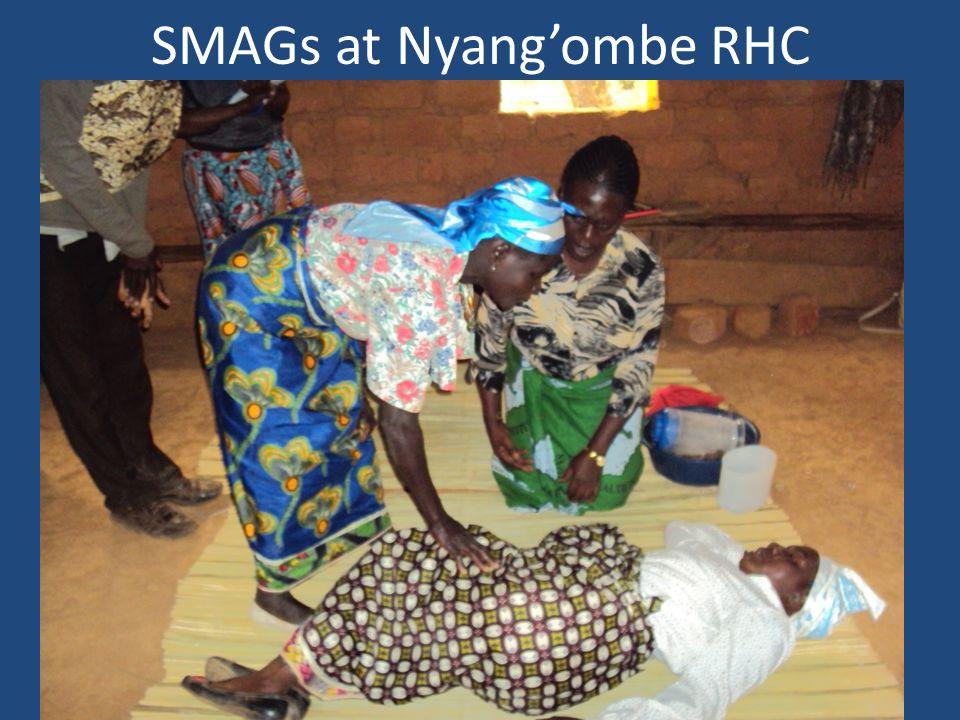 SMAGs at Nyangombe RHC