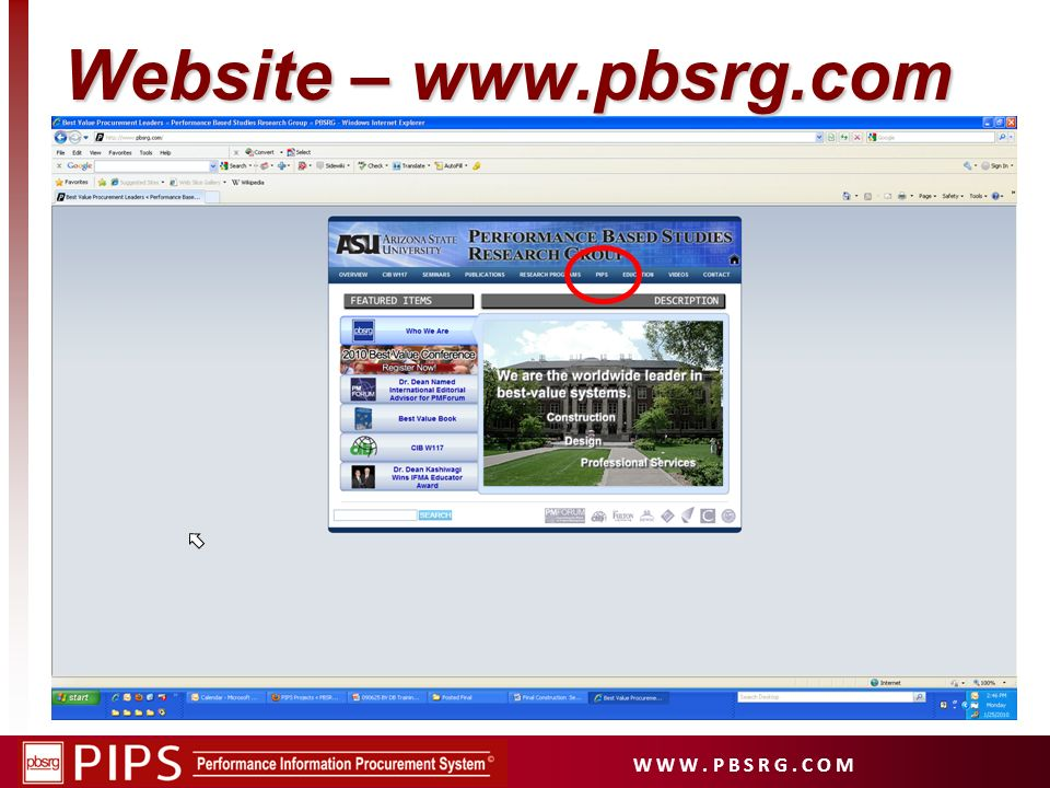 Website – www.pbsrg.com