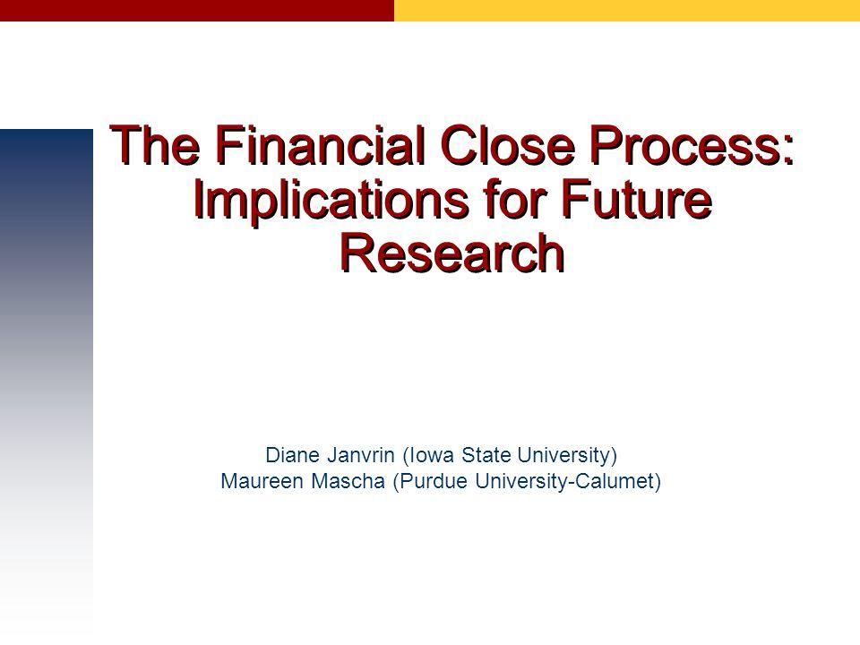 Finance preparing research report
