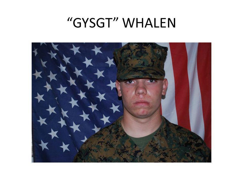 GYSGT WHALEN