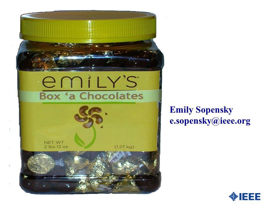 Emily Sopensky e.sopensky@ieee.org