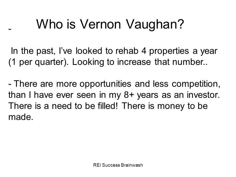 REI Success Brainwash Recap - Wholesaling is great for new & experienced investors.