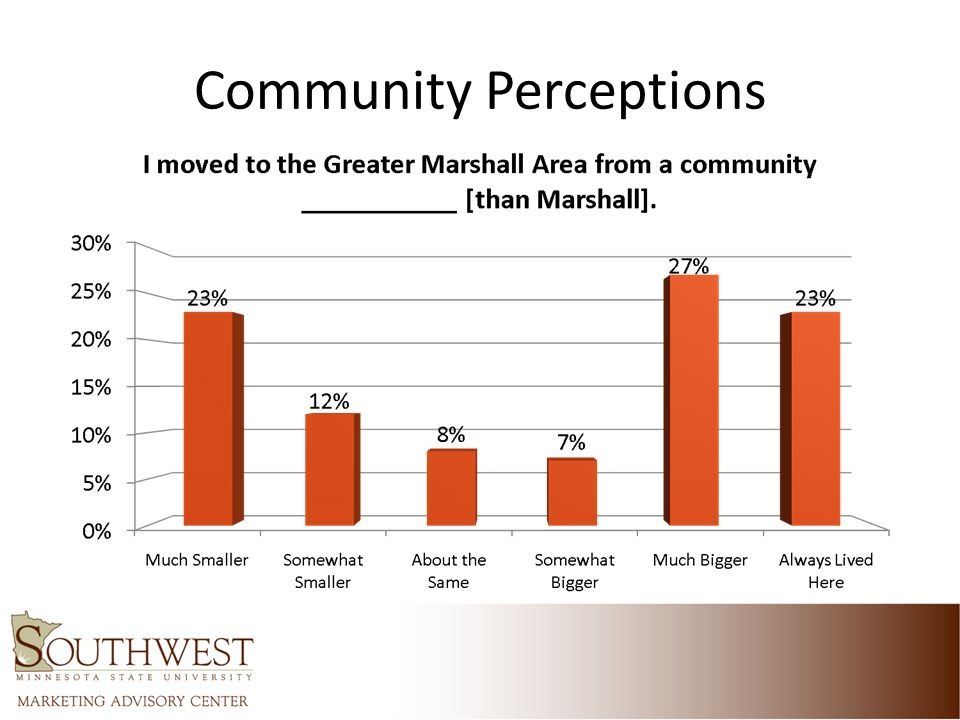 Community Perceptions