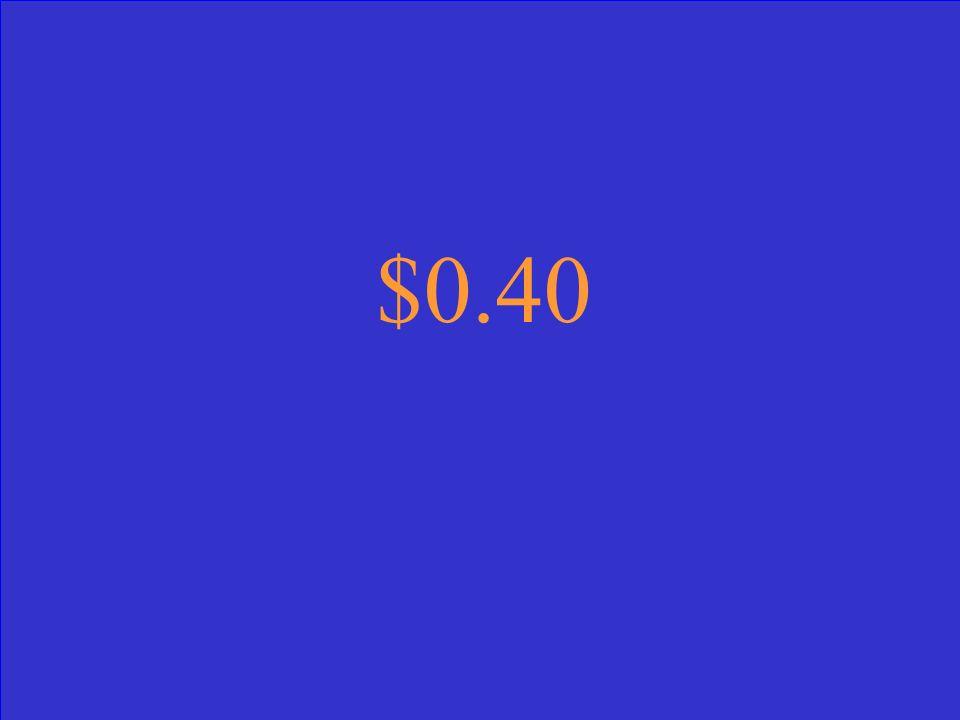 $0.40
