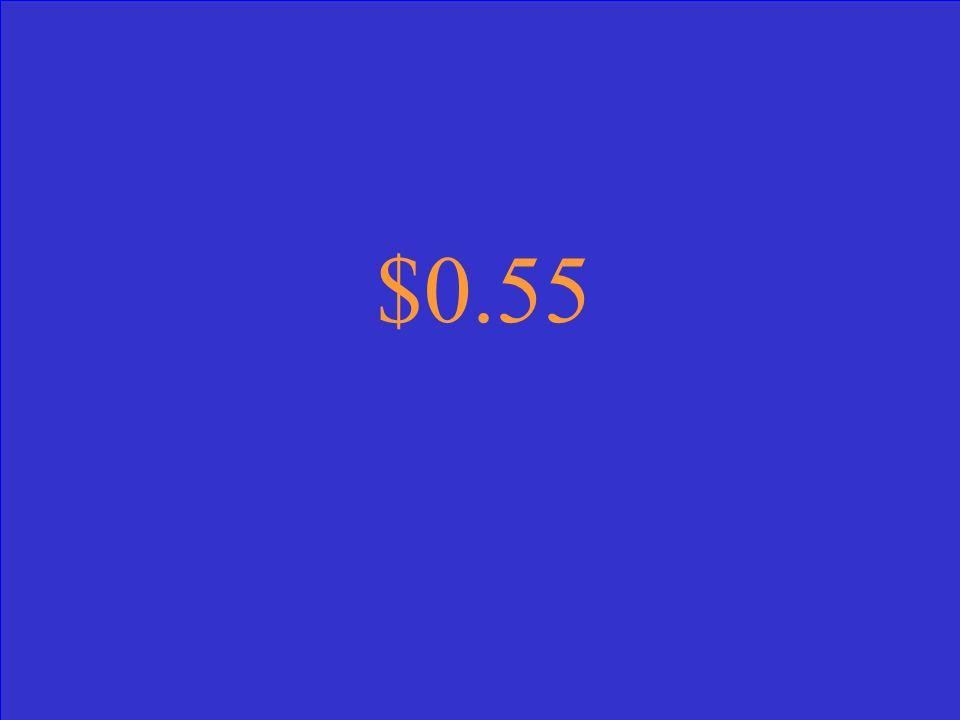 $0.55