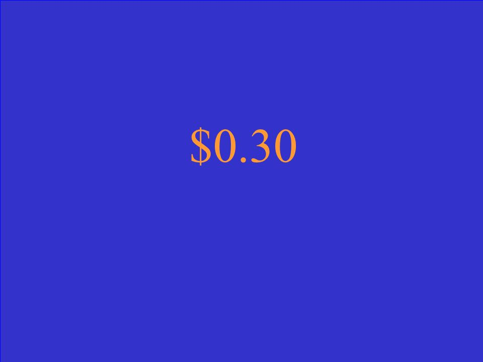 $0.30