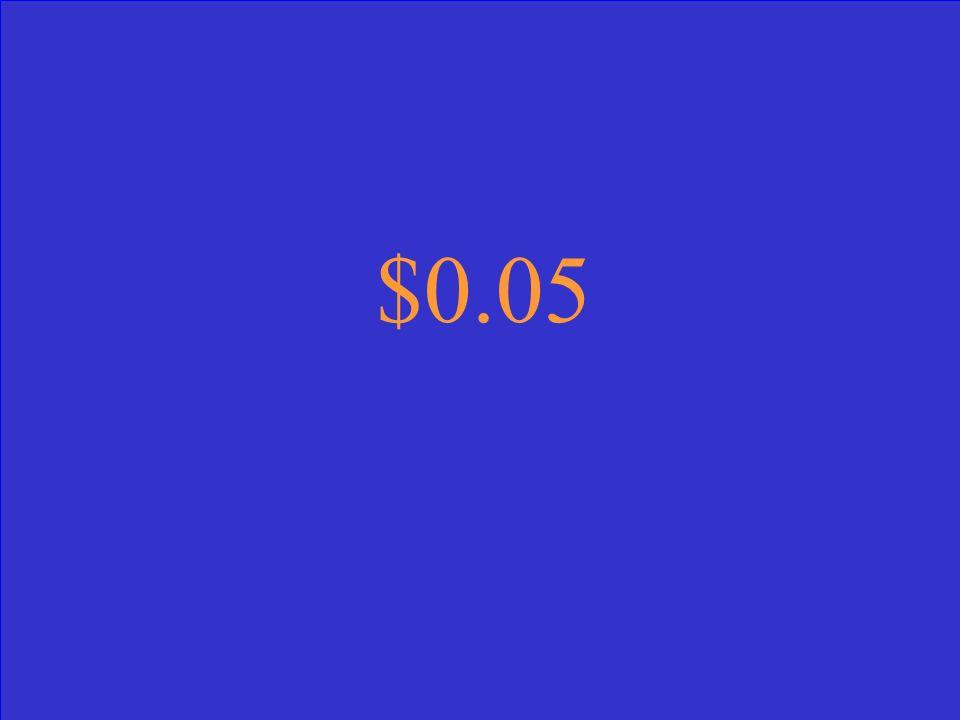 $0.05