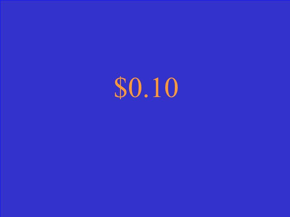 $0.10