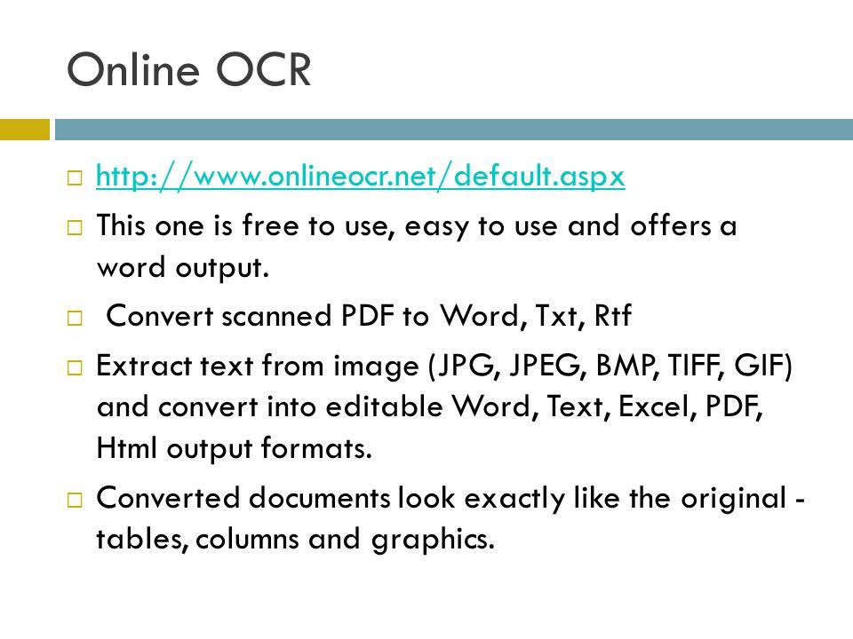 Onlineocr.net interface