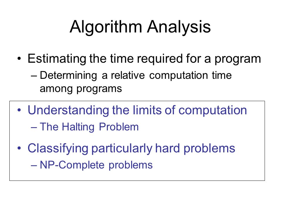 Understanding the limits of computation