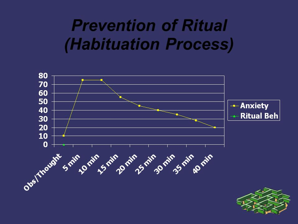 Prevention of Ritual (Habituation Process)
