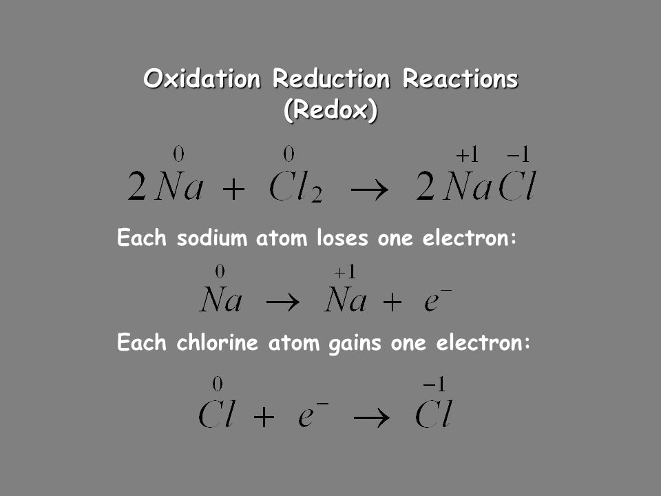 Oxidation and Reduction G ain E lectrons = R eduction An old memory device for oxidation and reduction goes like this… LEO says GER L ose E lectrons =