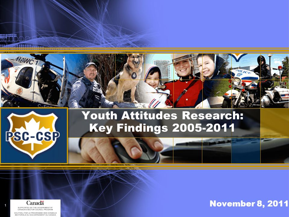 POLICE SECTOR COUNCIL Conseil sectoriel de la police connecting forces – securing futures unir les forces garantes de lavenir Table of Contents Research – 5 years ………………………………………………………………………….page 3 Findings ………………………………………………………………………….page 4-6 Other Observations ………………………………………………………………………….page 7 Summary ………………………………………………………………………….page 8