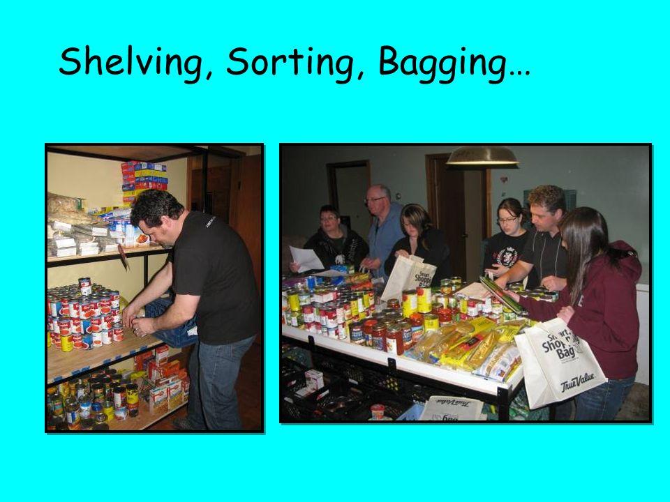 Shelving, Sorting, Bagging…