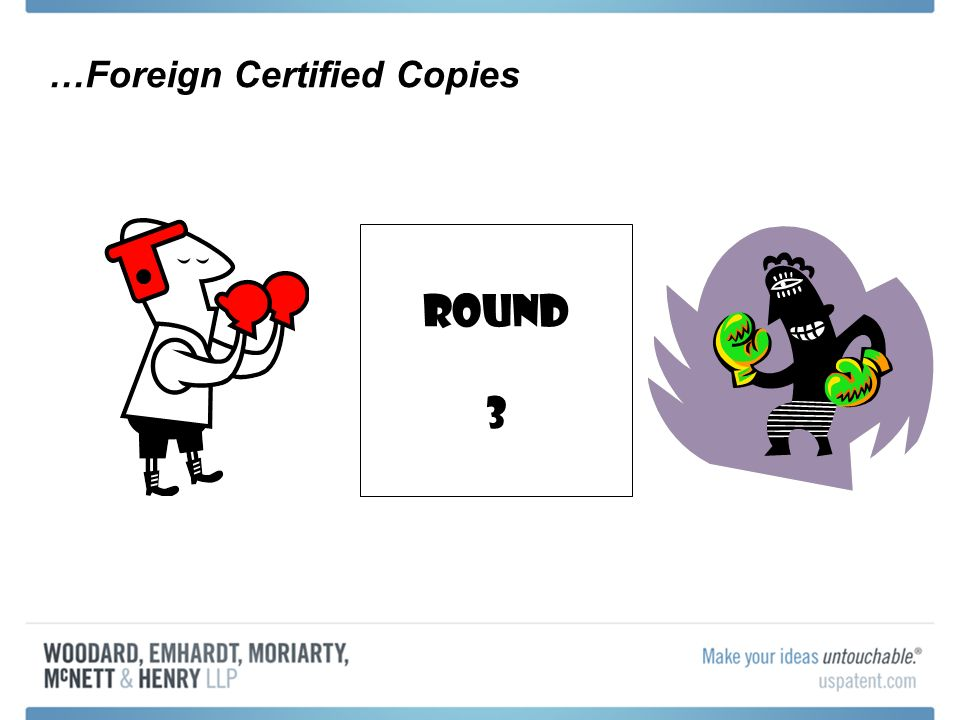 …Foreign Certified Copies Round 3