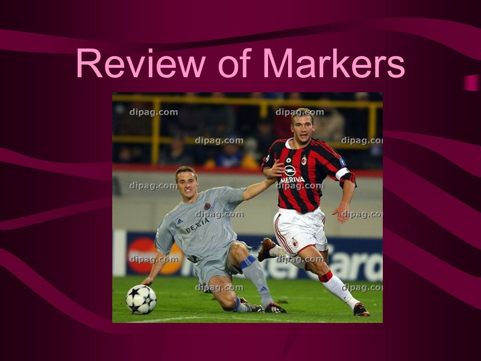Review of Markers