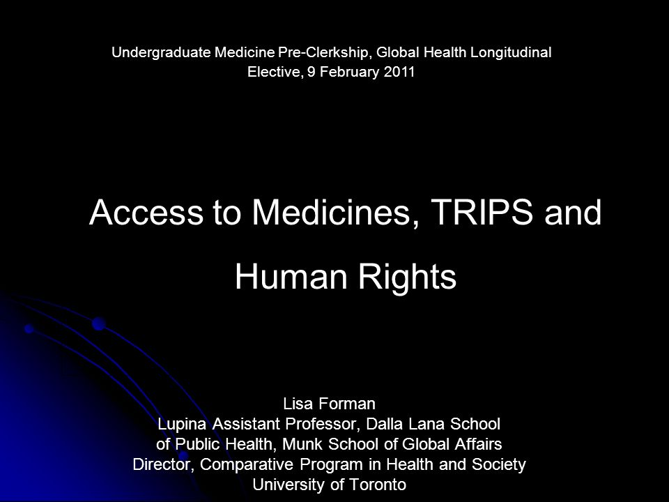 Efficacy of human rights Rights-based action ensured coercive reputational damage key to withdrawal PMA initiated broader acceptance of human rights claim for AIDS medicines in Africa Global support for AIDS treatment in Africa followed