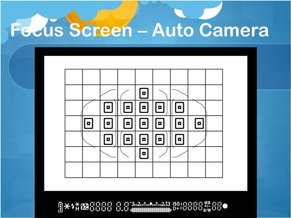 Focus Screen – Auto Camera