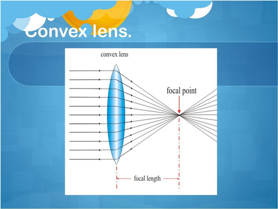 Convex lens.