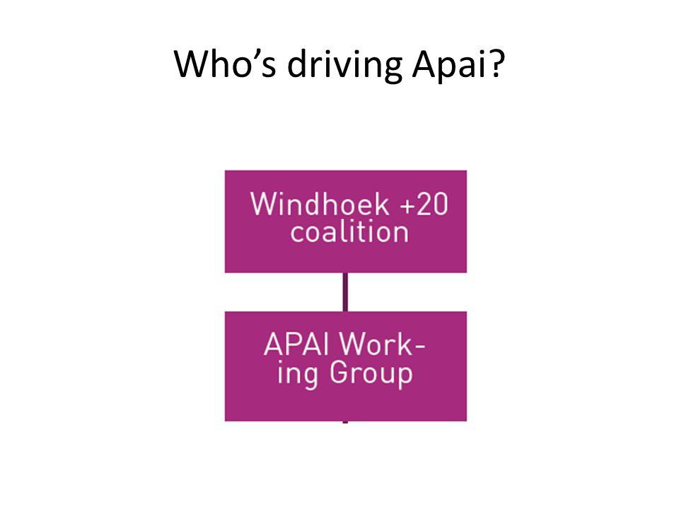 Whos driving Apai?
