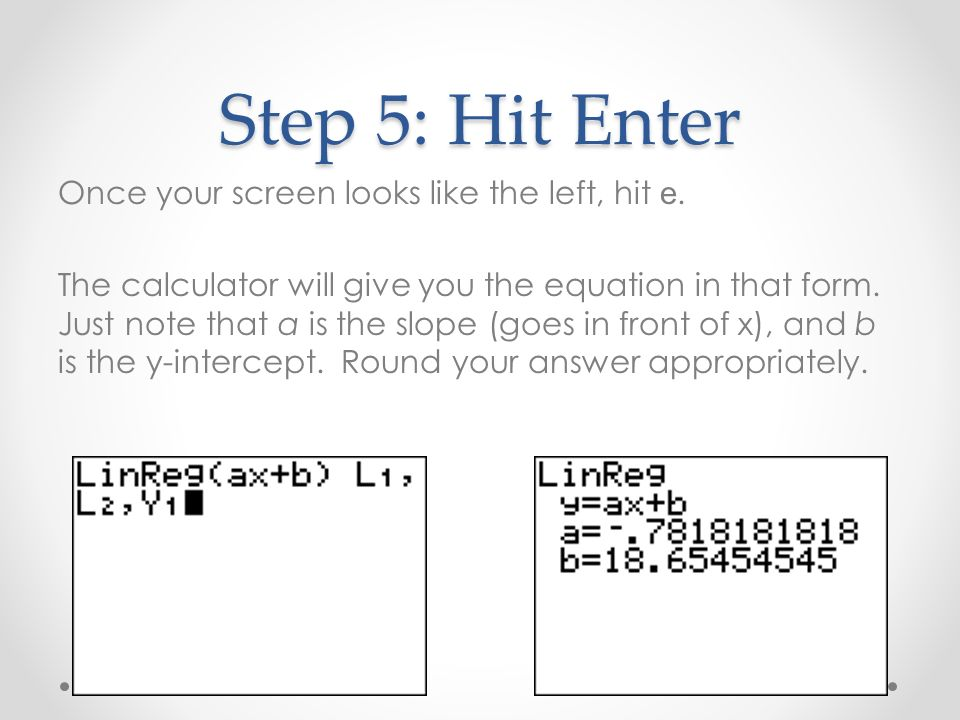 Step 5: Hit Enter Once your screen looks like the left, hit e.