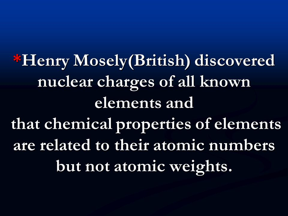 PERIODIC TRENDS: PERIODIC TRENDS: 1)ATOMIC&MASS NUMBER: AN,MN increases