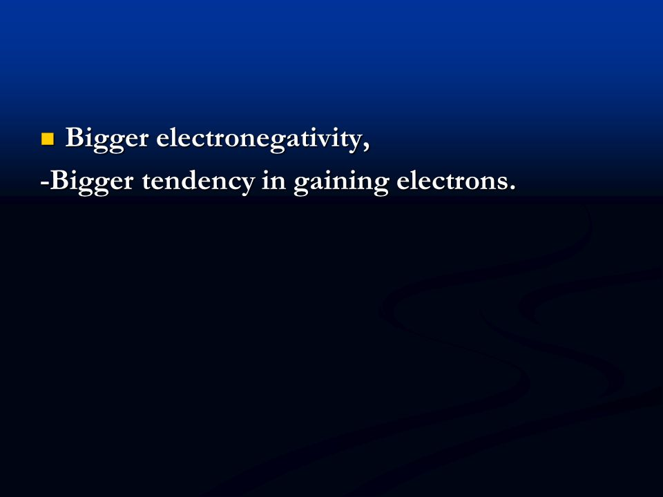 Calculating EN differences The first step in defining the polarity of a bond is to calculate electronegativity difference ( EN) The first step in defi