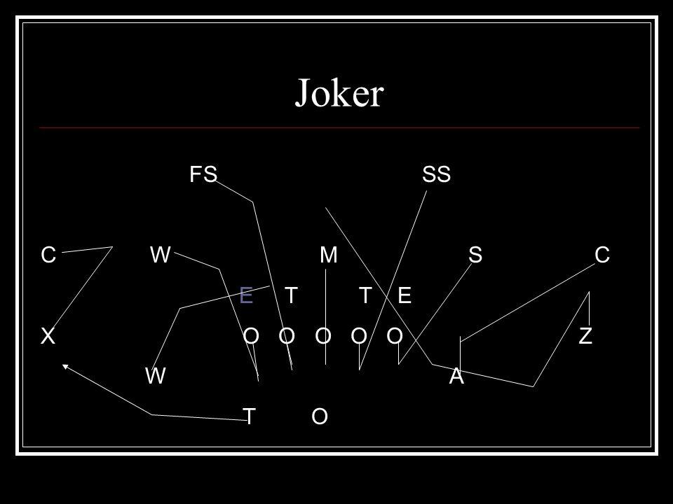Joker FS SS C W M S C E T T E X O O O O O Z W A T O