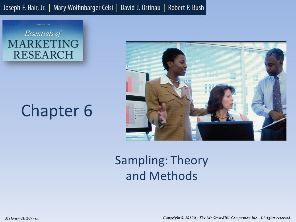 6-2 Learning Methods Explain the role of sampling in the research process Distinguish between probability and nonprobability sampling Understand the factors to consider when determining sample size Understand the steps in developing a sampling plan