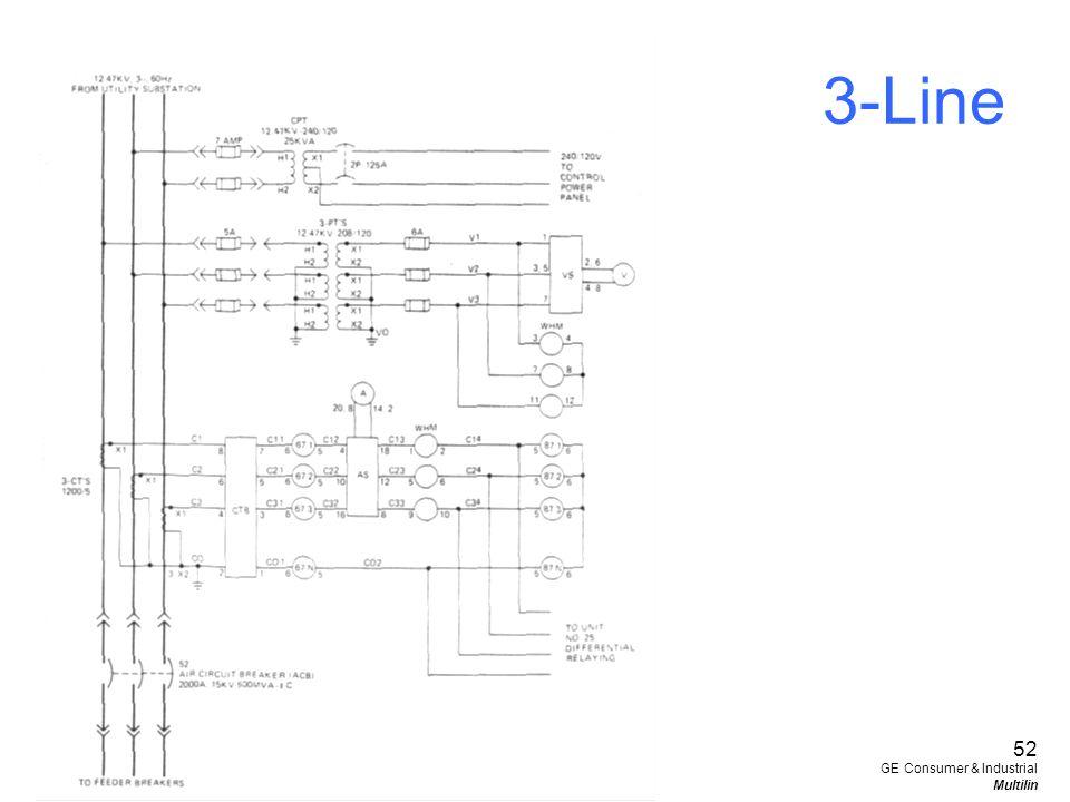 52 GE Consumer & Industrial Multilin 3-Line